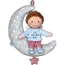 Baby Charms Schutzengel Spieluhr, 24x 20x 6cm, hellblau, Modell # 12595