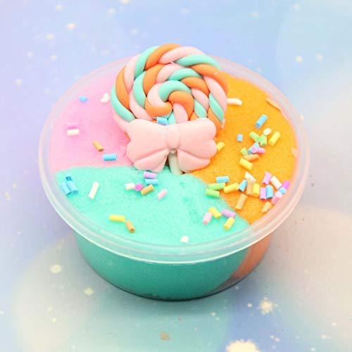 Mitlfuny Kinder Erwachsene Entwicklung Lernspielzeug Bildung Spielzeug Gute Geschenke,60ml Farbe mischen DIY Süßigkeiten Schleim Schlamm duftenden Stressabbau Ton ()