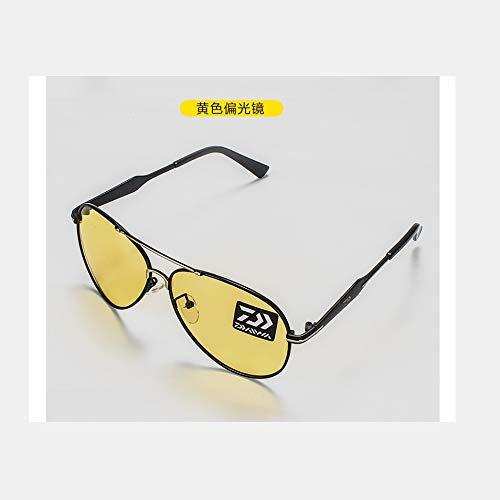 Angeln Brillen Sport Radfahren Wandern Polarisierte Angeln Brille Outdoor Professionelle Fischer Sonnenbrille 3 Stil (Color : C)