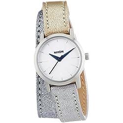 Nixon Ladies'Watch XS Kenzi Shimmer Leather Multi Wrap Analog Quartz A 4031875-00