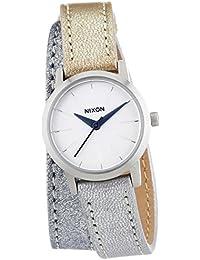 Nixon Damen-Armbanduhr XS Kenzi Wrap Shimmer Multi Analog Quarz Leder A4031875-00