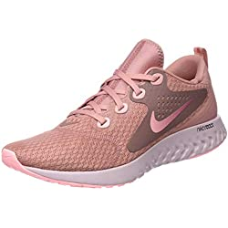 Nike Wmns Legend React, Zapatillas de Running para Mujer, Rosa (Rust Pink Tint/Smokey MAU 602),