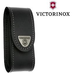 Victorinox - Etui en Cuir Noir Victorinox - pour Couteau Suisse de Longueur 91 mm