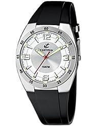 Calypso 6044/1 - Reloj de caballero de cuarzo, correa de goma color negro