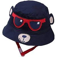 Seasaleshop Sombrero de Sol Anti-Ultravioleta de ala Ancha Visera para Bebe, Niño para Ciclismo Viajes (1-6 años de Edad)