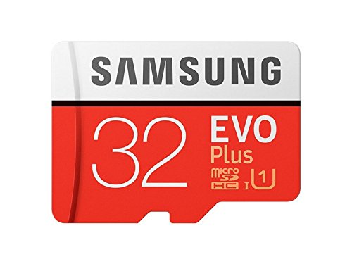Samsung EVO Plus MicroSDHC I Memory Card (95MB/s, White and Red)