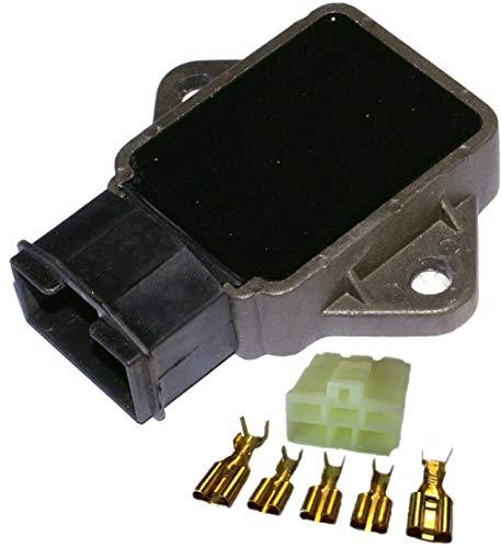 Autoparts - SH633-12 Regulador Corriente Moto SH638-12, Conector Incluido