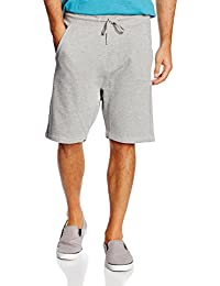 Tom Tailor Denim Overdyed Mélange Sweatshorts, Short de Sport Homme