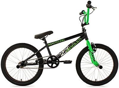 KS Cycling Circles - Bicileta BMX , para todas las medidas a partir de 135 cm, color negro / verde