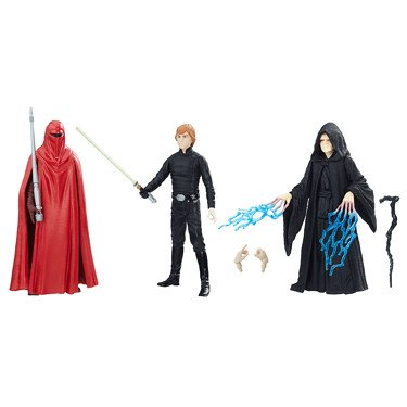 Pack 3 figuras Star Wars Episodio VI, 10 cm Force Link 2016, Hasbro