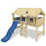 WICKEY Spielbett Hochbett CrAzY Lagoon Kinderbett 90x200 cm Etagenbett Abenteuer