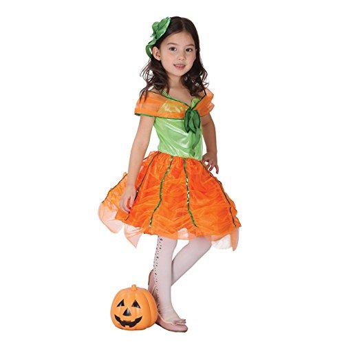 Halloween Kinderkleidung Make-up Performance Kostüm Kürbis Kleid weiblich Kürbis Kleidung Modeling Kleidung Festival/Halloween/Weihnachten, (Teufel Kostüm Makeup Weibliche)