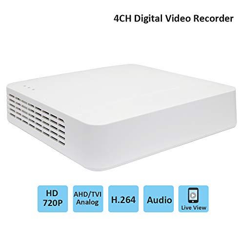 Hikvision DVR Système de sécurité CCTV enregistreur vidéo numérique 4CH  720P HD avec accès à Distance et détection de Mouvement pour caméras