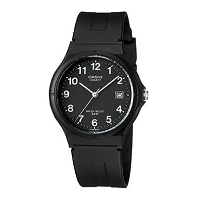 CASIO MW-59-1B - Reloj analógico, para mujer, color negro