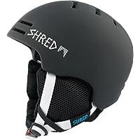 Shred Unisex Gorra de Slam NOSHOCK Slash Casco de esquí, snowboard, Otoño-invierno, unisex, color black/Slash, tamaño medium