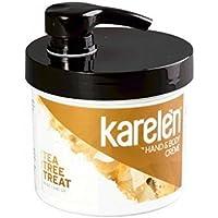 Karelèn Tea Tree Treat Hand & Body Crème Moisturizer 12 Oz. Jar by Karelen