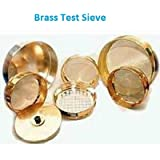 "ASTM Mesh #60 (250 Micron) Test Sieves / Vinsyst Test Sieve / Brass Test Sieves with SS Mesh / Durable Test Sieves / Laboratory Brass Test Sieve with lid & case / Brass 8 Inch Dia Size Test Sieves / Strainers & Sieves Online / Coarse Test Sieve / Brass Test Sieve 200 MM / Stainless Steel Mesh Test Sieves / Brass Frame Test Sieves / Stainless Steel Mesh Test Sieves / Export Quality Laboratory Item / #200 MM Brass Test Sieves / Pharmaceutical Test Sieves / Food Test Sieves / 8"" Dia"