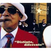 Distinto, diferente by Afro-Cuban All Stars, Juan de Marcos [Music CD]