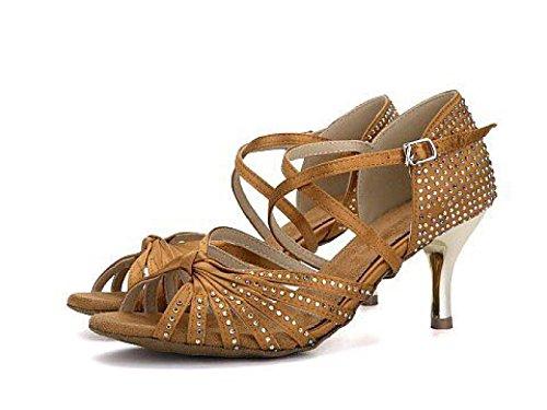 JSHOE Chaussures De Danse Latine Pour Femmes Salsa / Tango / Chacha / Samba / Moderne / Chaussures De Jazz Sandales Talons Hauts