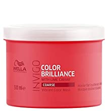 WELLA Professionals Invigo Color Brilliance Masque pour Cheveux Épais 500 ml
