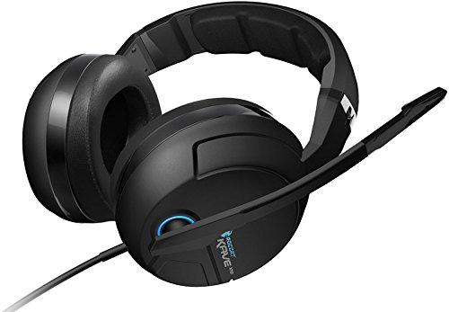 ROCCAT Kave XTD 5.1 Analog Headset (Echter 5.1 Surround-Sound, abnehmbares Active Noise-Cancellating Mikrofon) schwarz