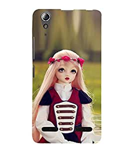 99Sublimation Baby Doll 3D Hard Polycarbonate Back Case Cover for Lenovo A6000 Plus