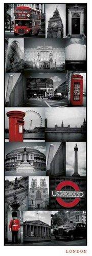 Empire 500052 - Póster Puerta Fotos Londres 53 x