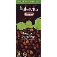 Chocolate Negro Avellanas Stevia - Sin Azúcar