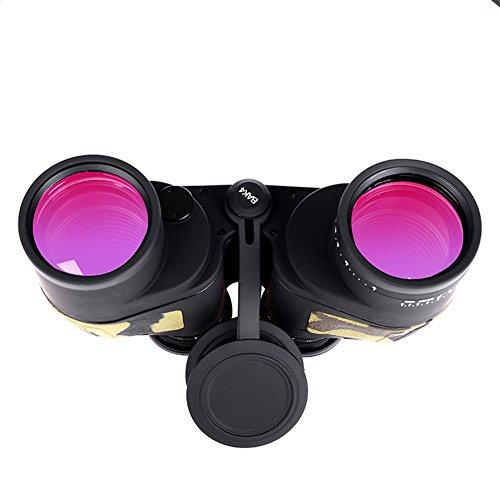WSHA Fernglas 10X50 Professional Hochwertige Zoom Rangefinder Fernglas Power Military Teleskop Fernglas Prism Low-Light-Level Nachtsicht Für Die Jagd