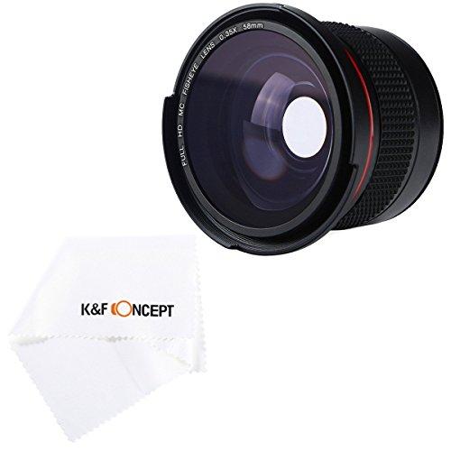 Objetivo Súper Gran Angular Fisheye de K&F Concept®