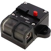MagiDeal 50A-300A Automatische Sicherung Schalter für Auto KFZ LKW Boot 12V - 80A
