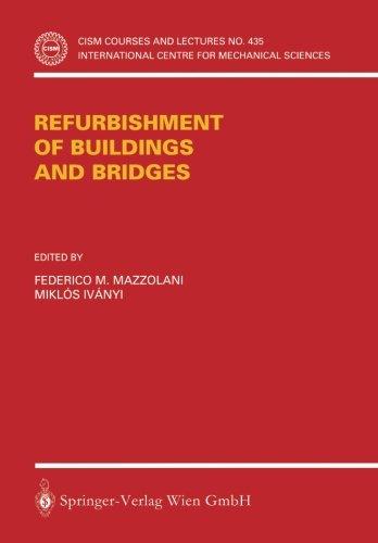 Refurbishment of Buildings and Bridges (CISM International Centre for Mechanical Sciences)