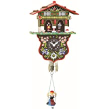 Black Forest Clock Swiss House Weather House TU 808 S by Trenkle Uhren