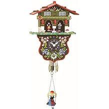 Orologio dalla Foresta Nera in miniatura casa svizzera casetta stazione meteo TU 808 S