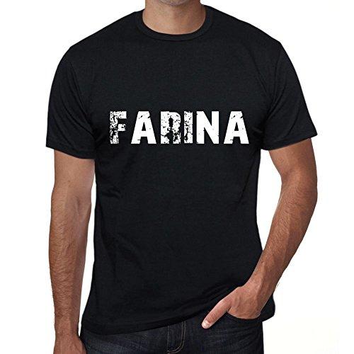 One in the City Farina Hombre Camiseta Negro Regalo De Cumpleaños 00554