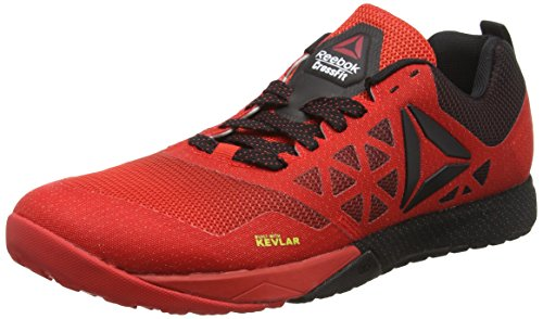 Reebok R Crossfit Nano 6.0, Scarpe da Fitness Uomo, Multicolore (Red/Black), 44 1/2 EU