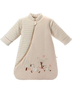 Missfly Baby Schlafsack mit abnehmbaren Ärmeln Winter Angedickte