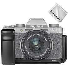 First2savvv L a forma di metallo verticale L Rilascio Rapido Piastra Monte/Quick release plate Mount Staffa fotocamera per Fuji Fujifilm X-T100 XT100 LLX-XT100-01G11
