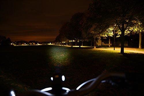 Fischer LED Leuchten Set Fahrrad inkl. 12 Speichensticks