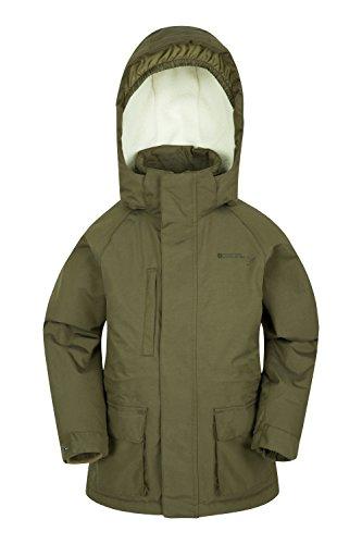 Mountain Warehouse Steve Backshall Sherpa Jugend Jacke Grün 140 (9-10 Jahre)