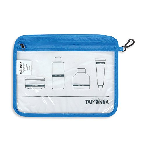 Tatonka Beutel Zip Flight Bag transparent, 22 x 17,5 cm