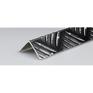 Aluminium Silver Profile MANDORLATO MT.2mm.40x 40x 1.5
