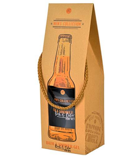 Duschgel Beer Bottle MEN'S COLLECTION - Duft Birke & Zeder - For Men - 360 ml