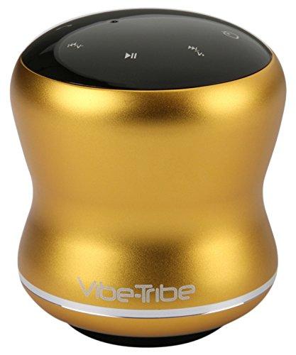 Vibe-Tribe Mamba Lemon Yellow - 18 Watt Haut-parleurs a Vibration Sans Fil, Bluetooth, NFC, Ecran Tactile, Connexions en série & Mains-libres