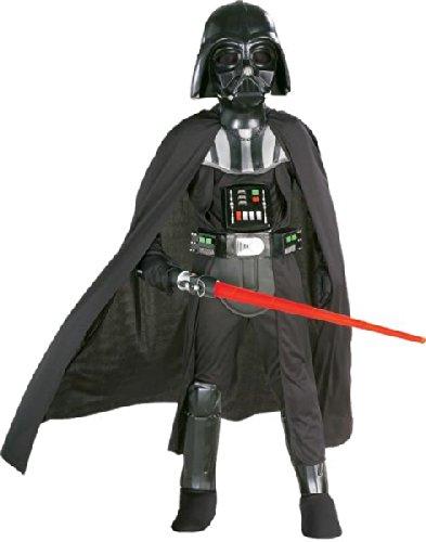 Darth Vader Chld Md MIT Maske Halloween Kostueme Maske Gesicht Maske Over-the-Head-Maske Kostuem Stuetze Scary Creepy Schreckliche Maske fuer Maskerade Make-up ()