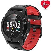 APHYC Reloj Deportivo con Bluetooth, altitud, termómetro Integrado, GPS para Fitness, Correr
