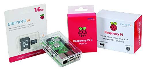 Raspberry Pi 3 Modelo B + Value Starter Kit