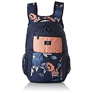 41flbrZcmoL. SS324  - Roxy Here You Are Fitness Backpack, Mujer, Dress Blues Full Flowers fit, 1SZ