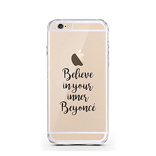 iPhone 7 Hülle von licaso® für das Apple iPhone 7 aus TPU Silikon Nap all Day Sleep all Night Party Never Faultier Muster ultra-dünn schützt Dein iPhone 7 & ist stylisch Case Design Schutzhülle Bumper Believe in your Beyoncé
