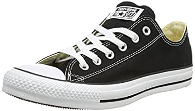 Converse Chuck Taylor All Star, Unisex Adults' Trainers, Black/White, 3 UK (35 EU)